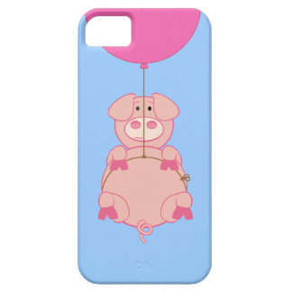 Cute Flying Pig and Balloon iphone 5 case