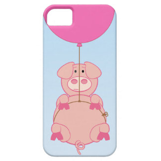 Cute Flying Pig and Baloon iPhone 5 Covers