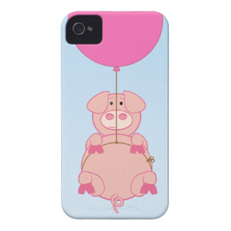Cute Flying Pig and Baloon iPhone 4 Covers