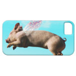 Cute flying pig iphone 5 cases