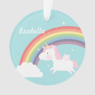 Cute Flying Unicorn Rainbow Girls Room Decor Ornament