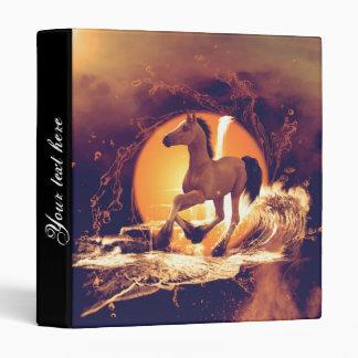 Cute foal vinyl binders