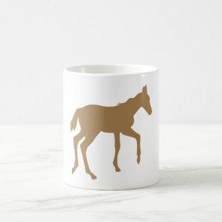 Cute foal horse coffee mug