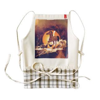 Cute foal zazzle HEART apron