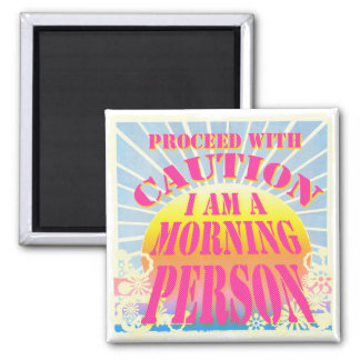 Cute Foodie Kitchen Gift - 2 Inch Square Magnet