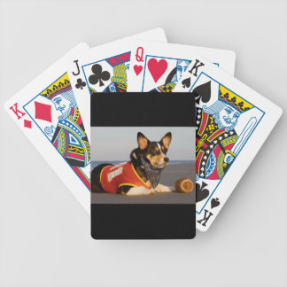 Cute Football Player Bicycle Playing Cards