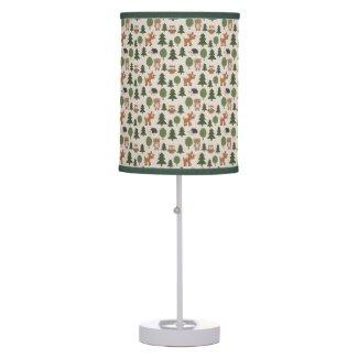 Cute Forest Animals Desk Lamp