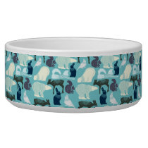 Cute Forest Animals Pattern Bowl