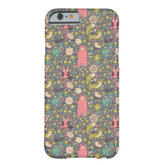 Cute Forest Animals Pattern iPhone 6 Case