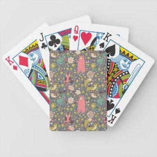 Cute Forest Animals Pattern Card Deck