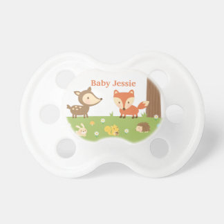 Cute Forest Woodland Animal For Babies BooginHead Pacifier