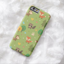 Cute Forest Woodland Animal Pattern Barely There iPhone 6 Case