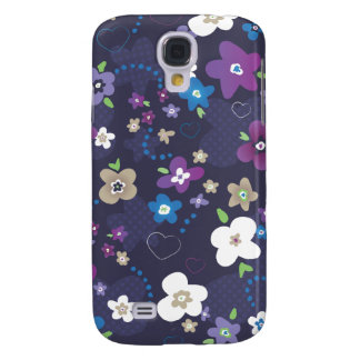 Cute forrest spring illustration pattern case samsung galaxy s4 cover