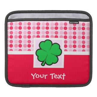 Cute Four Leaf Clover iPad Sleeves