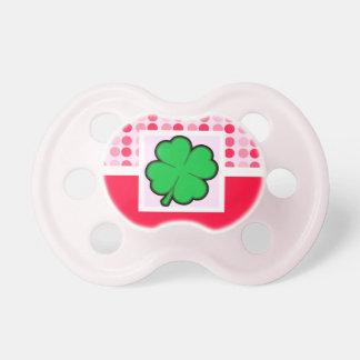 Cute Four Leaf Clover Pacifiers