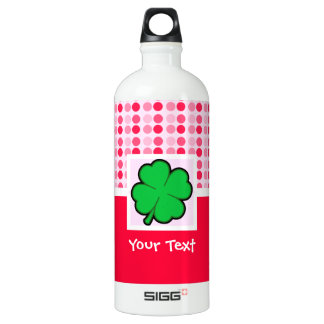 Cute Four Leaf Clover Water Bottle