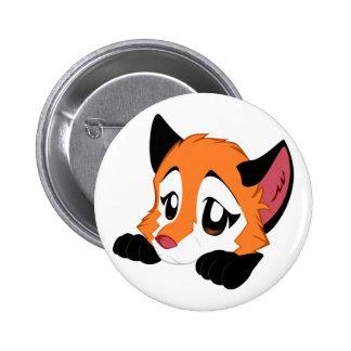 Cute Fox Button