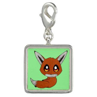 cute fox charm