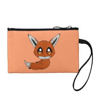 cute fox coin purse