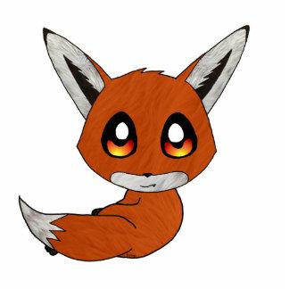 cute fox cutout