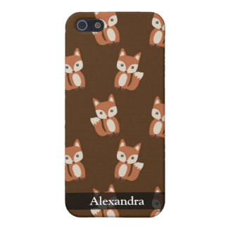 Cute Fox Pattern Case For iPhone 5