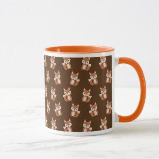 Cute Fox Pattern Mug