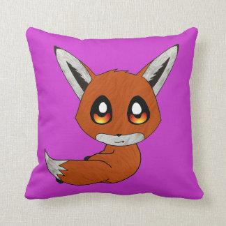 cute fox pillow