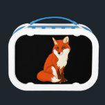 "Cute Fox Sitting Lunch Box<br><div class=""desc"">Cute Fox Sitting Lunch Box</div>"