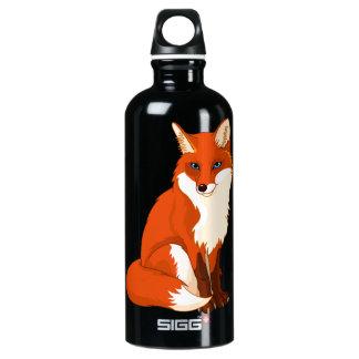 Cute Fox Sitting SIGG Traveler 0.6L Water Bottle