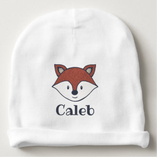 Cute Fox Woodland Theme Personalized Hat