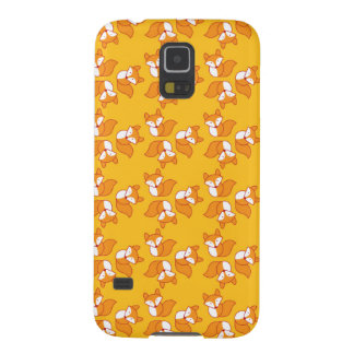 Cute foxy pattern galaxy s5 covers
