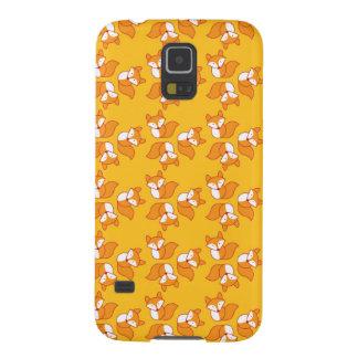 Cute foxy pattern galaxy s5 case
