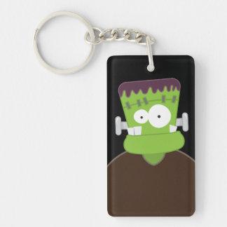 Cute Frankenstein Monster Acrylic Key Chain
