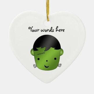Cute Frankenstein monster Ceramic Ornament