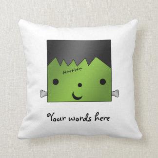 Cute Monster Pillow : Frankenstein Pillows, Frankenstein Throw Pillows