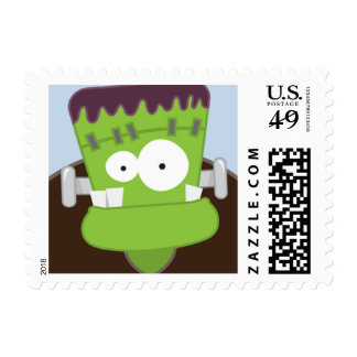 Cute Frankenstein Monster Small Postage