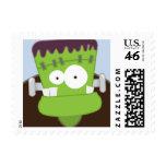 Cute Frankenstein Monster Small Postage