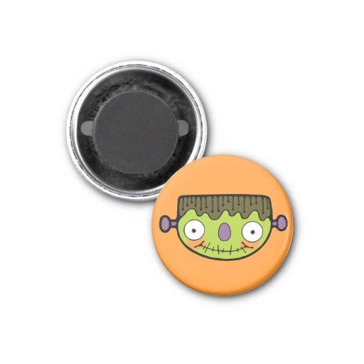 Cute Frankenstein Refrigerator Magnet