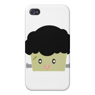 Cute Frankenstien Muffin iPhone 4 Case