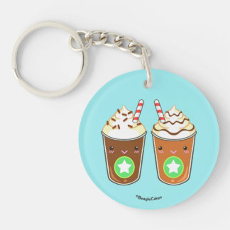 Cute Frappuchino Friends Keychain