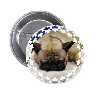 Cute French Bulldog Button