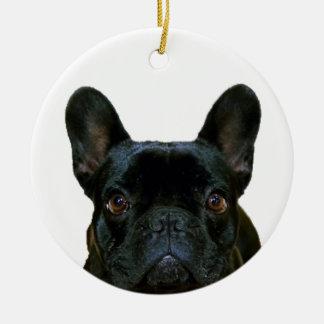 Cute French Bulldog Ceramic Ornament