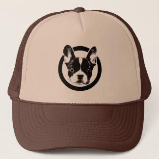 Cute French Bulldog Dog Face Trucker Hat