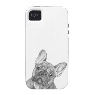 Cute French Bulldog iPhone 4/4s phone case Vibe iPhone 4 Cover