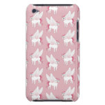 Cute French Bulldog Pegasus in the mythical world Barely There iPod Cover
