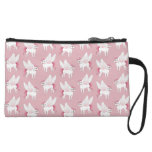 Cute French Bulldog Pegasus in the mythical world Wristlet Wallet