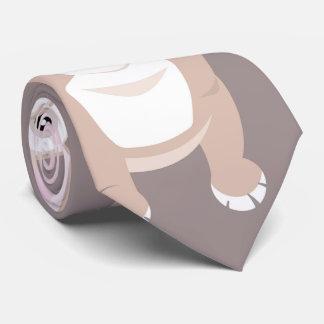 Cute French Bulldog Puppies Neck Tie