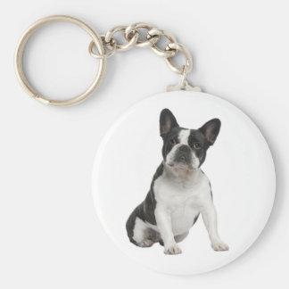 Cute French Bulldog Puppy Dog Keychain