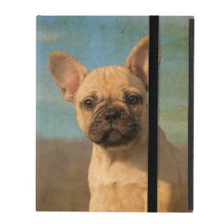 Cute French Bulldog Puppy -  protective Hardcase iPad Cover