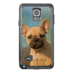 OtterBox Commuter Samsung Note 4 Case with Bulldog Phone Cases design